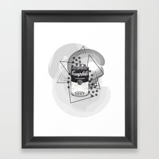Creative Soup Framed Art Print