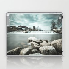 Waterfall on Sora river, Medvode Laptop & iPad Skin