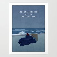 eternal sunshine Art Prints featuring ETERNAL SUNSHINE by Oliver Shilling