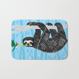 The Sloth and The Hummingbird Bath Mat