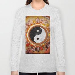 Yin Yang - Healing Of The Orange Chakra Long Sleeve T-shirt