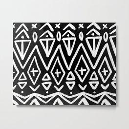 Zuzu African Pattern Metal Print