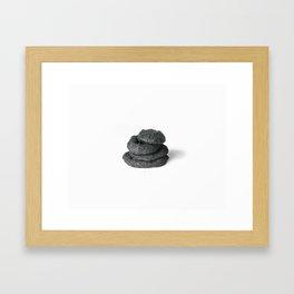 onion rings Framed Art Print