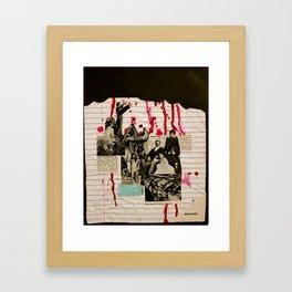 Heath Hen Framed Art Print