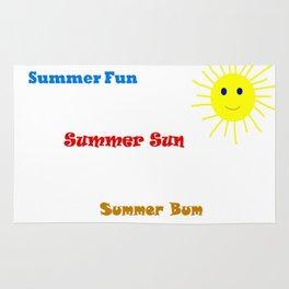 Summer Bum Rug