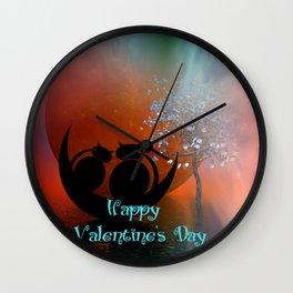 Valentine's Day -2- Wall Clock