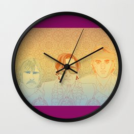 DARJEELING Wall Clock