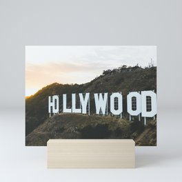 Hollywood Sign Mini Art Print