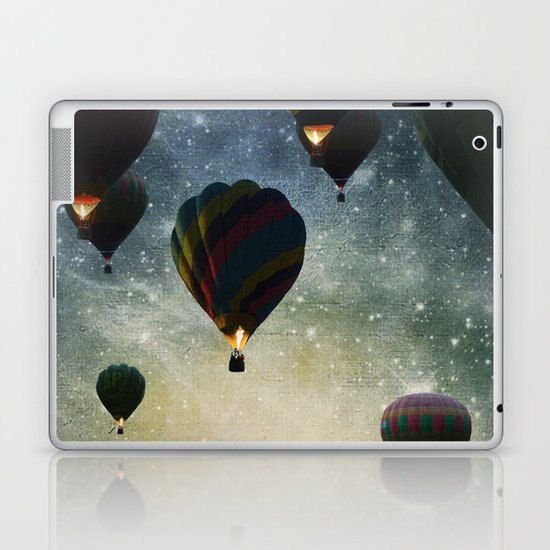 Lighting the night Laptop & iPad Skin