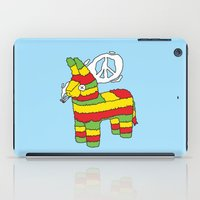 rasta iPad Cases featuring Rasta pinata by Dmitriylo