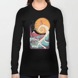 Surf Before Christmas Long Sleeve T-shirt