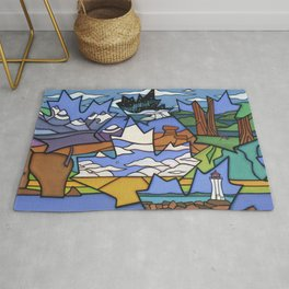 FROM SEA TO SEA TO SEA Rug