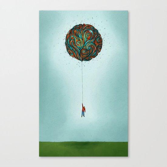 120,000 ft  Canvas Print