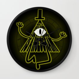 Bill Cipher, Reality is an illusion Wall Clock