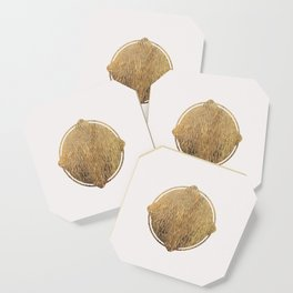 Gold Squircle Coaster