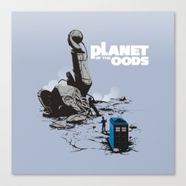 PLANET OF THE OODS Canvas Print