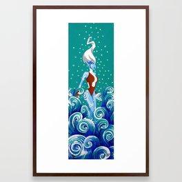 Namorita Framed Art Print
