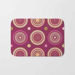 Ethnic Circles Bath Mat
