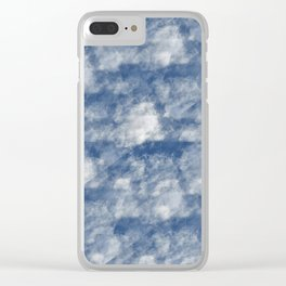 ABSTRACT SKY 6 Clear iPhone Case
