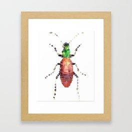 Geometric Entomology V Framed Art Print