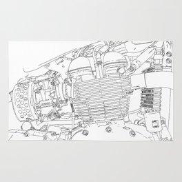 bonney drawing Rug