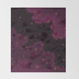 Garnet Universe Throw Blanket