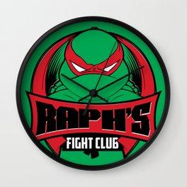 Raph's Fight Club Wall Clock