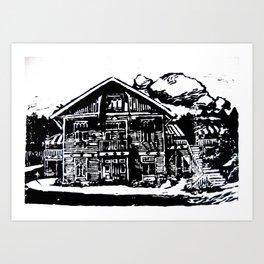 Jyringin Talo I Art Print