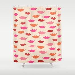 LIP SERVICE {cream} Shower Curtain