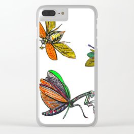 FLIGHTS Clear iPhone Case