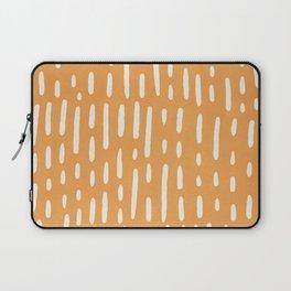 minimalist series: scandi lines, orange Laptop Sleeve