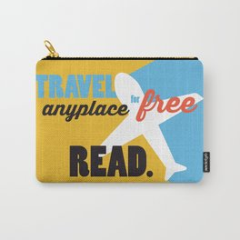 Travel - Just Read Carry-All Pouch