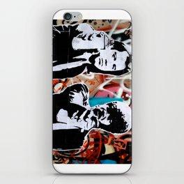 Art Is A Weapon Vince & Jules iPhone Skin