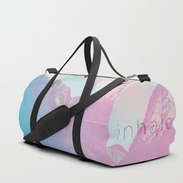 Inhale / Exhale Duffle Bag