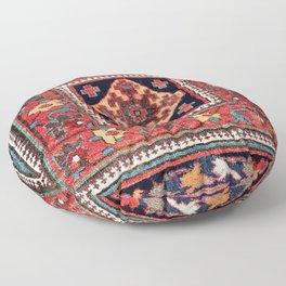 Kurdish Azerbaijan Northwest Persian Bag Face Print Floor Pillow