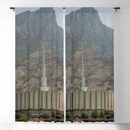 Provo Utah Mormon Temple Latter Day Saints Church Blackout Curtain