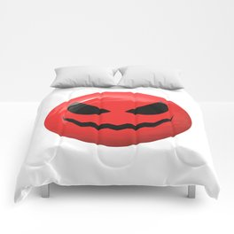 Red face design Comforters