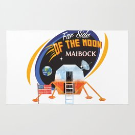 Far Side of the Moon Maibock Rug