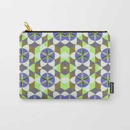 FLOWER OF LIFE GEOMETRIC PATTERN Carry-All Pouch