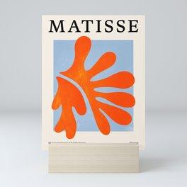 Red Coral Leaf: Matisse Paper Cutouts II Mini Art Print