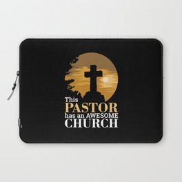 Christianity - Awesome Church Pastor Laptop Sleeve