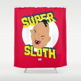 Super Sloth! Shower Curtain