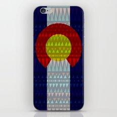 Colorado Flag/Geometric iPhone Skin