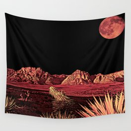 Full Red Rocks Wall Tapestry