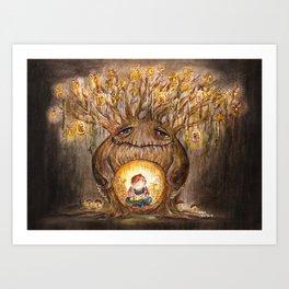 The Comfort Tree Art Print