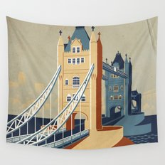Tower Bridge Wall Tapestry
