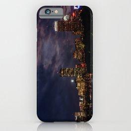 Boston at night iPhone Case