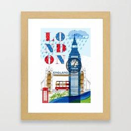 London Travel Framed Art Print