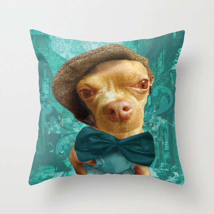 PHiNEAS TWiST (more please sir...) Throw Pillow