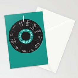 Wheel o' Writing Exercises Stationery Cards